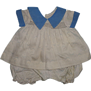 Authentic Effanbee TAGGED 2 PC Dress Set for Composition Doll