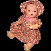 """Effanbee Dy-Dee 15"""" Mold 1 Brunette TLC  Baby Doll"""