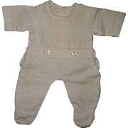 "Authentic Effanbee Dy-Dee Pajamas for 13"" Baby Doll"