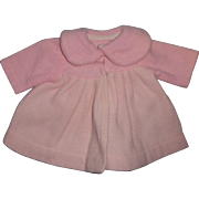 "Nice Effanbee Dy-Dee Eiderdown Coat for 15"" Baby Doll"