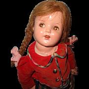 Adorable School Girl Composition Doll ~ Very Cute