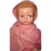 Adorable Effanbee Sweetie Pie Composition Baby Doll