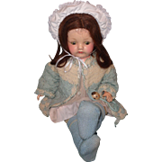Very Sweet Effanbee Composition Mama Doll