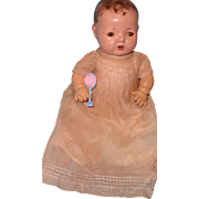 """Authentic Effanbee Dy-Dee Organza Gown w/ Matching Slip for 15"""" Baby Doll"""