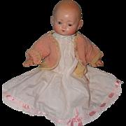 """Precious 12"""" German Composition Baby Doll"""