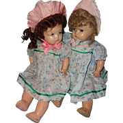 Composition Twin Sister Baby Doll ~ Sweet Set