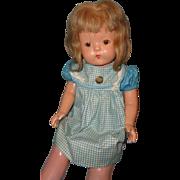 Effanbee RARE Soft Body Patsy Lou Composition Mama Doll