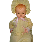 """Largest Effannbee Sugar Baby 25"""" Composition Doll"""