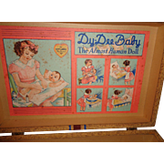Authentic Effanbee Dy-Dee Baby Doll Layette Trunk
