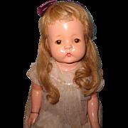 """Effanbee Factory Original 30"""" Patsy Mae Composition Mama Doll ~ Precious"""