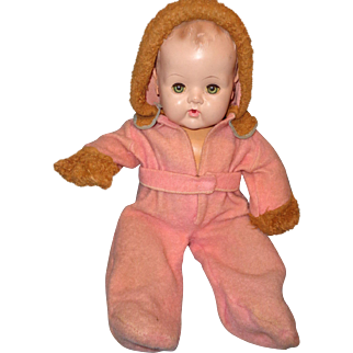 """Pink Snow Suit for 20"""" Dy-Dee baby ~ Really cute"""