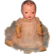 """Authentic Effanbee Dy-Dee Organza Embroidered Dress for 11"""" Baby Doll"""