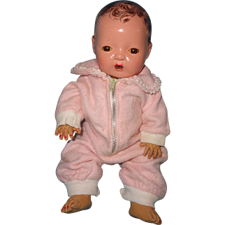 """Effanbee Dy-Dee Eiderdown Pink Snow Suit for 11""""  Baby Doll"""