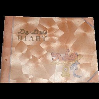 Effanbee Dy-Dee Baby Diary  #A