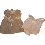 """Authentic Ideal TLC  Tagged Shirley Temple Dress and Slip for 16"""" Composition Doll"""