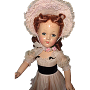 "Factory Original Effanbee 27"" Southern Belle Composition Doll"