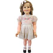 """Ideal 36"""" Shirley Temple PlayPal ~ Factory Original"""