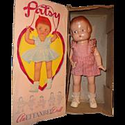 Effanbee Factory Original 1946 Patsy Composition Doll w/ Box