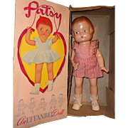 Effanbee Factory Original 1946 Patsy Composition Doll w/ Box