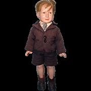 Factory Original Dewees Cochran American Child Composition BOY Doll
