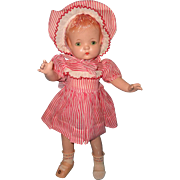 "Effanbee Factory Original Patsy Joan 16"" Version Composition Doll ~ Sweet"