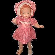 "Effanbee Factory Original Patsy Joan 16"" Version Composition Doll ~ Sweet"