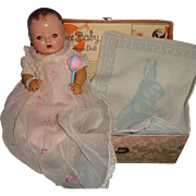 """Effanbee Mold 1 Dy-Dee  11"""" Baby Doll w/ Box and Extras"""