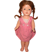"Effanbee Sweet 17"" Rosemary Composition Doll"