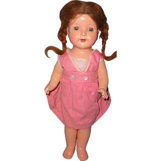 """Effanbee Sweet 17"""" Rosemary Composition Doll"""