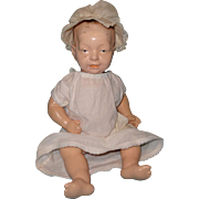 Adorable German Composition Kaiser Baby Type Doll