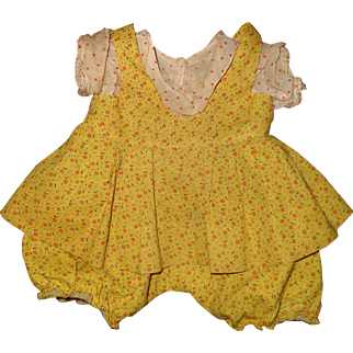 """Authentic Effanbee Patsy Ann Dress for 19"""" Composition Doll"""