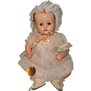 Factory Original Rare 1930s EARLY Betsy Wetsy Doll by Ideal  w/ Case ~ TLC