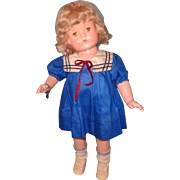 "Factory Original 22"" Patsy Lou Composition Doll By Effanbee ~ Beautiful"