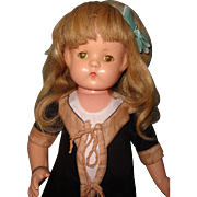 """Gorgeous  22"""" Wigged Patsy Lou Composition Doll by Effanbee"""