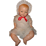 Huge Horsman Dimples Adorable Composition Baby Doll ~ Fat n Chunky and Lifelike