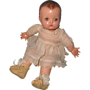 "Effanbee Adorable 9"" Babykin Composition Doll"