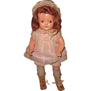 Effanbee Factory Original Small Composition Mama Doll ~ Really Sweet