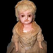 All Original Wax Over Compo/Paper Mache' Fashion Doll ~ Stunning
