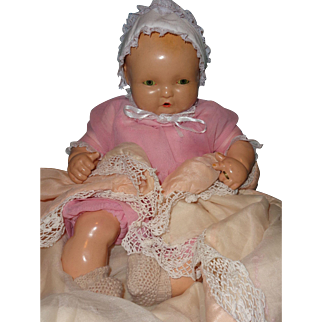 Effanbee Lambkins Composition Baby Doll ~ Pretty in Pink