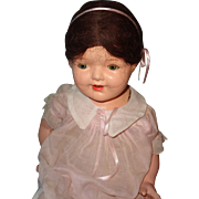 "Pretty 26"" Large Composition Mama Doll"