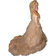 All Original Wax Over Composition Fashion Doll ~ Beautiful