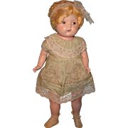 "Adorable 27"" Factory Original Composition Mama Doll"