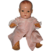 """Lovely Dy-Dee Pink Silk Coat for 15"""" Baby Doll"""