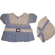 Authentic Effanbee 2 pc Outfit for Composition Doll