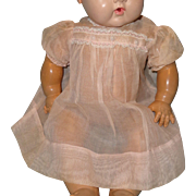 """Authentic Effanbee Dy-Dee Lou Organza Dress for 20"""" Baby Doll"""