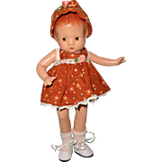 "Effanbee 9"" Composition Patsyette Doll"