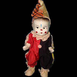 Factory Original Composition Clown Doll ~ Exvellent Condition