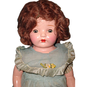 "Factory Original 22"" Composition Mama Doll ~ Pretty"