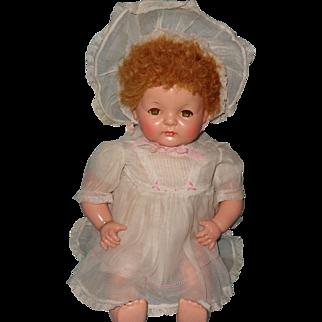Adorable Factory Original Effanbee Sugar Baby Composition Baby Doll
