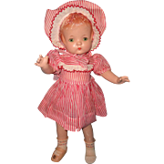 "Effanbee Factory Original Patsy Joan 16"" Composition Doll"
